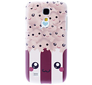 Matte Style Smile Face Pattern Durable Hard Case for Samsung Galaxy S4 Mini I9190