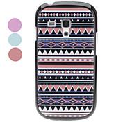 Polychrome geometrische patroon Hard Case voor Samsung Galaxy S3 mini I8190