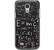 Formule Patroon Aluminium Hard Case voor Samsung Galaxy S4 mini I9190