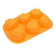 molde de girassol em forma de silicone bolinho bolo (cor aleatória)