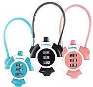 3-digit Luggage Combination Lock(Random Color)