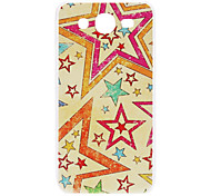 For Samsung Galaxy Case Pattern Case Back Cover Case Cartoon PC Samsung Mega