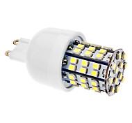 4W G9 Bombillas LED de Mazorca T 60 SMD 3528 270 lm Blanco Natural AC 100-240 V