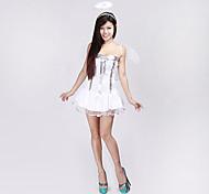 Sexy Adult Womens White Angel Halloween Costume