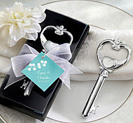 Key to My Heart Victorian Bottle Opener in Black Gift Box
