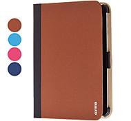 vírgula estojo de couro demin graciosa para mini-ipad 3, mini iPad 2, iPad mini (cores opcionais)