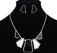 Geometry Jewelry Set