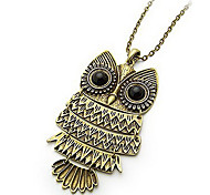 Owl Sweater Chain Fashion Necklace
