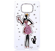 Beautiful Girl with Kilt Back Case for Samsung Galaxy S2 I9100