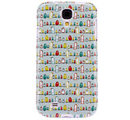 Singing Birds Pattern TPU Soft Case for Samsung Galaxy S4 I9500
