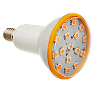 E14 6W 25x5050SMD 450-500LM 3000K Warm White Light King-Size LED del bulbo del punto (200-240V)
