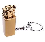 LS625 portatili butano elettrici placcati con portachiavi