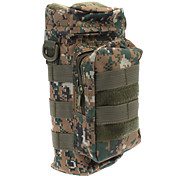 L Daypack Outdoor Camouflage Nylon / Cotton
