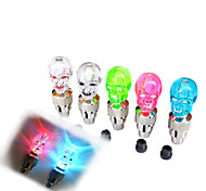 Bike Light , Wheel Lights / Valve Cap Flashing Lights - 1 Mode Lumens Cell Batteries Battery Cycling/Bike Random Color Bike Others