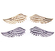 European and American trade suit brooch super beautiful angel wings wing collar lapel collar pin brooch jewelry X65-X66