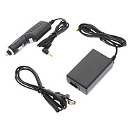Rapid Car + Home Ac Wall Power Adapter Charger for Sony PPS 1000 2000 3000 Slim