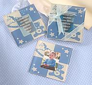 Cute Baby Bear Coaster (Baby blue)