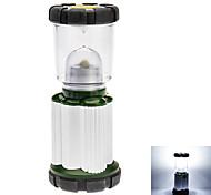 2-Mode Camping Lantern (3 piles AA, vert + argent)
