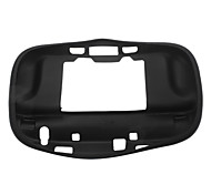 Black Soft Skin Case with Protector for Nintendo Wii U Gamepad Remote Controller