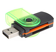RC-008-USB2.0 SD, Mini SD, M TF Card Reader