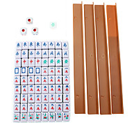 Popular Ultra-small Leisure Travel Mini Impreso Mahjong ligero Fun Game Chino