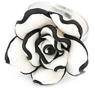 Mode élégante Sweety Fleurs anneau d'ouverture