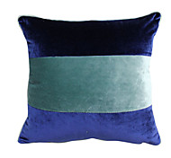 "18 ""almohada cubierta de poliéster rayas Modern Square"