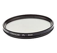 PR01-D DMC CPL Circular polarización ultra fino multicapa 62mm Negro