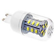LED Mais-Birnen T G9 4W 330-380 LM 6000 K 24 SMD 5730 Kühles Weiß AC 220-240 V