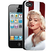 Marilyn Monroe Pattern 3D Effect Case for iPhone 5