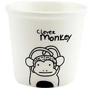 Macaco de 12 Zodíaco chinês Ceramic Cup