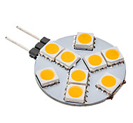 G4 9 SMD 5050 70-100 LM Warm wit LED-bollampen AC 12 V