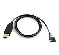 FT232 a USB TTL del cavo di legare terminale integrato per il programmatore