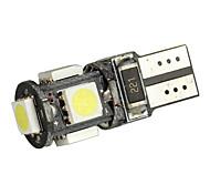 LED Merdia T10 Blanco 5 5050 SMD LED Canbus Error sin coches Bombilla (par)-LEDD004JMA5S1