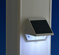 Solar Powered LED di luce bianca Pathway Percorso Muro Stair Mounted Garden Lamp (cis-57163)