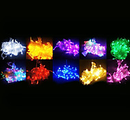 100-LED 10M Decoration light for Christmas Party RGB Light LED String Light (220V)