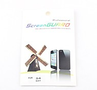 3X Clear Front Screen Protector for Samsung Galaxy S4 I9500
