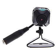 """Mini 2.4GHz 1/3"""" CMOS Wireless Color Security Pinhole Camera with Infrared Night Vision and Audio"""