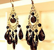LY Hollow Tassel Drop Earring