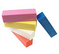 1PCS буфера шлифовальный блок файла Nail Art (случайный цвет)
