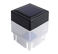 Solar Powered Fence Fencing Cap Outdoor LED White Light