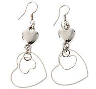 Heart Silver-Plated Earrings