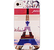 Four Seasons Tower Style Back Case voor iPhone 4/4S