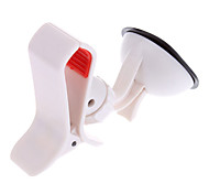 360 Grad Support Voiture Support Halter Auto Halterung pour iPhone / Samsung Galaxy S3 S4 i9500 Remarque N7100 (Blanc)