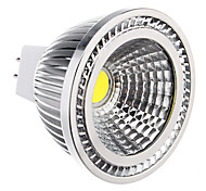 6W GU5.3(MR16) Spot LED 1 COB 450 lm Blanc Froid DC 12 / AC 12 V