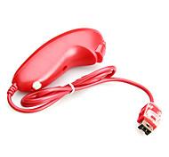 Nunchuk Controller für Nintendo Wii / Wii U (Red)