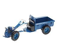 Blue Metal Farmer Tractor Gas Lighter
