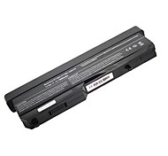 7800mAH Replacement Laptop Battery for Dell Vostro 1310 1320 T112C T114C 9cell - Black