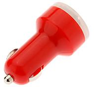 Mini Red Car Charger + USB Data Cable Cable para teléfonos móviles Samsung