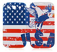 Usa Nationalflagge Ledertasche für Samsung Galaxy S3 I9300
